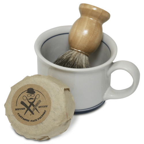 Picture of Shaving Soap, Shaving Mug, and Shaving Brush